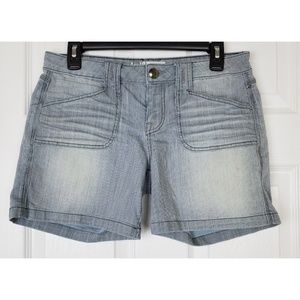 Anthropologie  level 99 stripped short size 28
